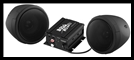 Boss Audio Systems 600 watt Motorcycle/ATV Sound System w Bluetooth Audio Streaming - Black