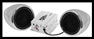 Boss Audio Systems 600 watt Motorcycle/ATV Sound System w Bluetooth Audio Streaming - Chrome