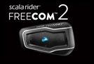 CARDO SCALA RIDER FREECOM 2 BLUETOOTH HEADSET
