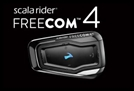 CARDO SCALA RIDER FREECOM 4 BLUETOOTH HEADSET