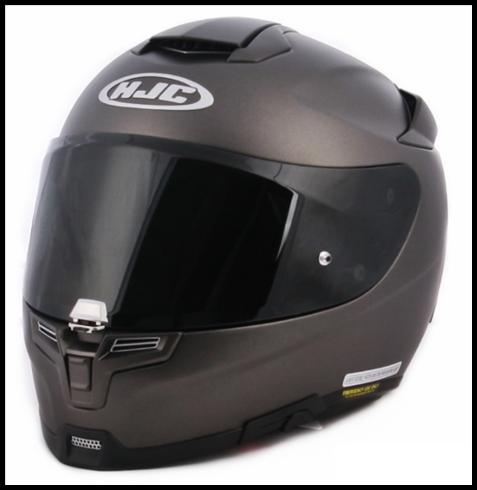 HJC i70 HJ-31 Pinlock Ready Helmet Face Shield Dark Smoke