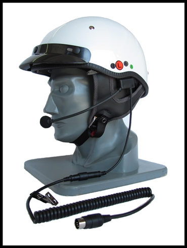 IMC 6 PIN HEADSET FOR HALF STYLE HELMETS