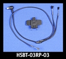 J&M Replacement HSBT-03 mounting clamp & elite headset component wire harness (only).
