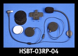 J&M Replacement HSBT-03 mounting clamp & performance series headset component (only).