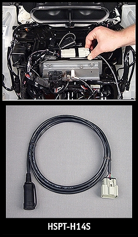 J&M Solo Headset Connection Harness Kit for 2014-18 Harley StreetGlide/RoadGlide