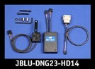 J&M Blu Hub Dual Driver/Passenger Bluetooth Dongle for 2014-2017 Harley StreetGlide/RoadGlide
