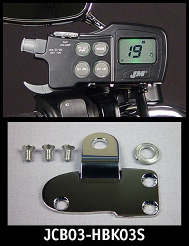 J/&M JMCB-2003 Mounting Bracket Kit Polished