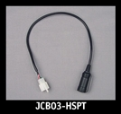 J&M Replacement Headset Pigtail Lead for JMCB-2003B/E