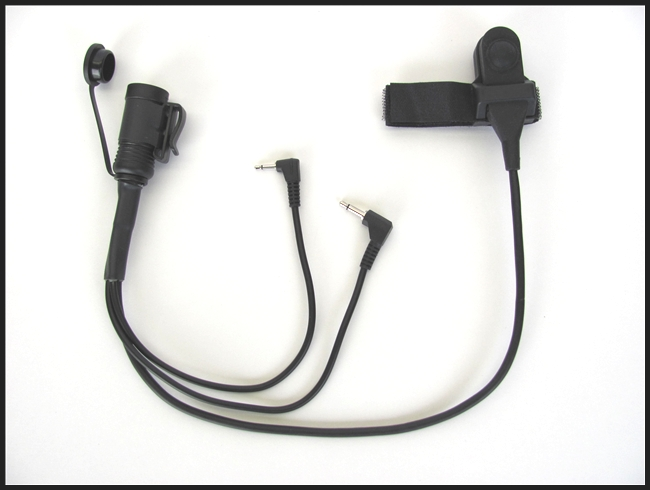 j\u0026m headset harness w ptt switch for cobra portable cb radio CB Radio Mobile