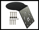 RAM Antenna Adapter Plate with AMPS Hole Pattern