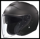 SHOEI J-CRUISE OPEN FACE HELMET - MATTE BLACK