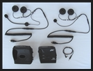 J&M INTEGRATR IV PORTABLE AUDIO SYSTEM KIT WITH IMC HEADSETS