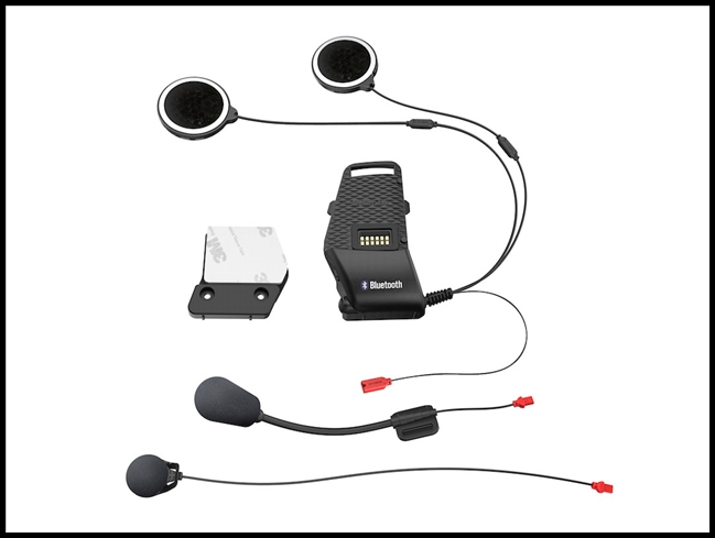 SENA 10S Universal Helmet Clamp Kit with Microphones