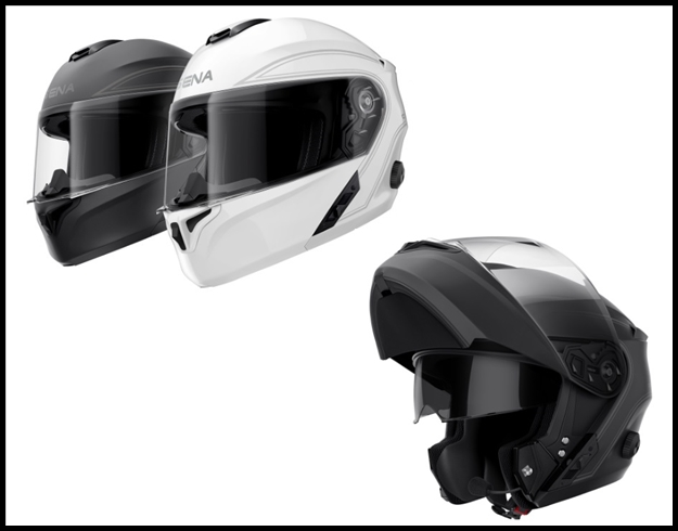SENA OUTRUSH BLUETOOTH INTEGRATED MODULAR HELMET