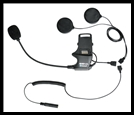 SENA SMH10 Helmet Clamp Kit With Attached Boom Microphone - For Speakers And Earbuds