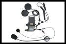 SENA SMH10 Helmet Clamp Kit With Attachable Boom & Wired Microphone - For Speakers And Earbuds