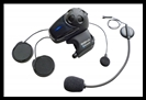 SENA SMH10 Motorcycle Bluetooth Headset / Intercom with Universal Microphone Kit