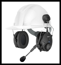 SENA TUFFTALK - Hard Hat Mount Earmuff with Long-Range Bluetooth Communication