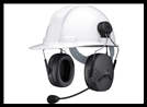 SENA TUFFTALK LITE - Hard Hat Mount Earmuff with Long-Range Bluetooth Communication