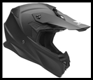VEGA MIGHTY X JR. OFF-ROAD HELMET - MATTE BLACK