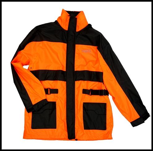 Hi-Visibility Yellow, X-Large Vega Rain Jacket